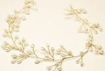 Bridal Hair Vines / Handmade bridal hair vines for your wedding day featuring freshwater pearls, crystals and rhinestones.