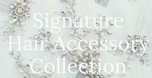 Signature Bridal Hair Accessory Collections by Hair Comes the Bride / Customizable Signature Bridal Hair Accessory Collection by Hair Comes the Bride