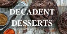 Decadent Desserts / Recipes and treats made even better with Lindt Chocolate!