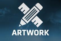 Artwork / Artwork by DV8 and artwork we appreciate. / by DV8 Digital Marketing