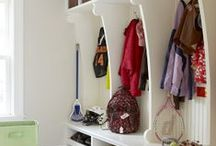 Mudroom and Laundry / by Christina Matteson