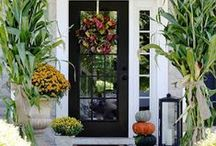 welcoming door and entry / by Cris Eddy