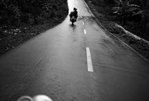 All About the Journey / Life is too short to be spent in a cage. Get out on the road. Feel the wind. Embrace the adventure. Enjoy the journey like a true biker at heart.