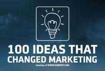 100 Ideas That Changed Marketing /  Courtesy of WWW.HUBSPOT.COM / by DV8 Digital Marketing
