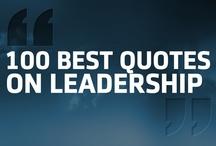 100 Best Quotes on Leadership  / www.dv8dm.com / by DV8 Digital Marketing