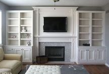 Fireplaces / by Melissa Yost