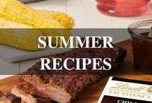 Summer Recipes / Fun ways to incorporate Lindt Chocolate into your summer recipes and activities!