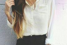 inspired // dress + hair + face