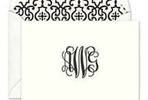 M is for Monogram / Everything looks better when it's got your letters.