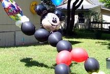 Party Decorations using Balloons / Party Decorations using Balloons