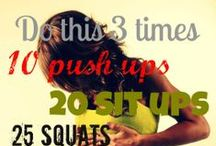 Exercise | Quick Workouts / by Mary Karsten