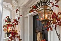 Autumn/Thanksgiving / décor, crafts, etc... for the fall and Thanksgiving holiday