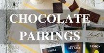 Chocolate Pairings / Tips, tricks and ideas for hosting the perfect chocolate pairing party.
