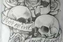 Biker Tattoos / Awesome biker inspired ink!