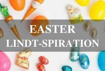 Easter Lindt-spiration / Sweeten your Easter celebration with DIYs, recipes and party ideas featuring LINDOR Eggs and Lindt GOLD BUNNY. Find even more at Lindtusa.com/blog