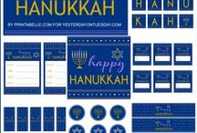 Holidays - Hanukkah / Hanukkah Crafts + Food #hanukkah #chanukah / by Malia Martine Karlinsky