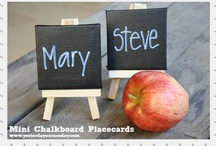 Crafts - Chalkboard / All things chalkboard! #chalkboard / by Malia Martine Karlinsky