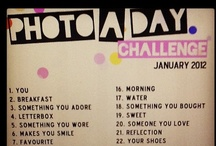 2012 photography challenges / by Faith Raider