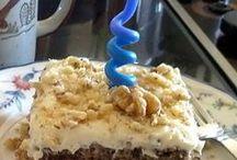 Cake, frosting, filling / by Elaine Jones