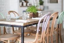 dining areas / by Kimmithy Robinson