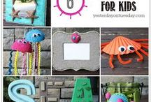 Crafts - Crafts for Kids / Art and craft projects for our pint-sized Picassos! / by Malia Martine Karlinsky