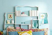 Girl's room re-do / Home decor for shared girl's room / by Faith Raider