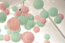 Pretty Pastel Weddings / by LinenTablecloth.com