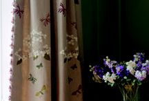 Curtain & Blind Fabric Inspiration / Our beautiful hand-printed and hand embroidered curtains make just stunning curtains and blinds. Get your inspiration here...