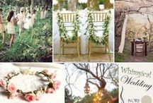 Whimsical Weddings / Extravagant and playful, the whimsical wedding theme varies greatly by definition. Whimsical weddings run from magical, pixie style weddings to over-the-top, color explosion weddings. Whimsical weddings are always a great time and are very lively.