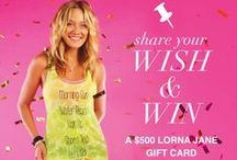 LORNA JANE WISH LIST / by Lorna Jane