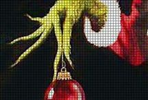 Counted Cross Stitch / I love all types of crafting. Counted cross stitch is just one of my passions / by Karen Threlkeld