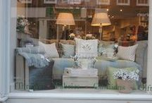 Susie Watson Designs Window Dressing / Our stylists and interior designers are continually updating, changing and styling our store windows throughout the country - we thought we would share some of their ideas, work and beautiful window displays with you...