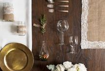 Tablescape Grids / by LinenTablecloth.com