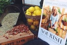 #LIVELOVENOURISH / Introducing Lorna Jane Clarkson's new cookbook.  Stop dieting, start NOURISHING. / by Lorna Jane