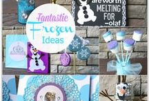 Crafts - Frozen / Craft, food and FUN Frozen Ideas #frozen #olaf #elsa #anna #disney / by Malia Martine Karlinsky