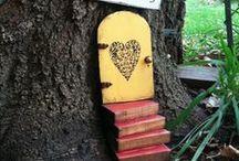 Fairy House Ideas / by Barbara Waite