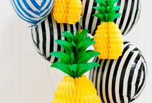 pineapple party / by Kimmithy Robinson