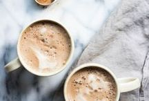 WARM DRINKS / Get toasty and inspired with warm drinks that will shoo away the winter blues.