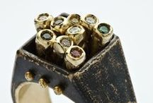 Art Jewelry Rings / by Beth Millner Jewelry