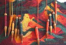 Tapestry Weaving / A collection of images of tapestry weaving and ideas for future tapestry weavings.