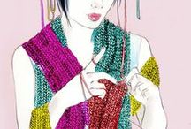 Yarns to Yarn About. / Yarns I love, both to knit with and for just being ...!