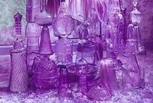 The Colour - PURPLE / The many shades & hues of PURPLE.