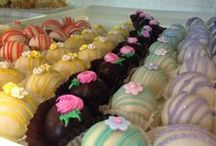 Sweet Treats / At Sweet Themes Bakery, we offer a variety of homemade cookies, brownies, bars, pastries, pies, cakes and more. Every day is different, so check out our latest creations!