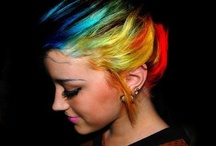 Crazy Hair Color / by Gail Fattori