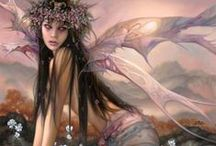 *Fantasy Art : Got Wings* / A collection of fairy,fae and other winged beings.