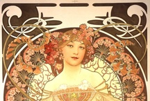 Mucha And Others / Art Nouveau / by Sylvia Moore