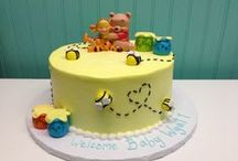 Baby Showers / Custom baby showers are a wonderful way to congratulate the happy parents to be. Make it extra special with custom cakes and cookies from Sweet Themes Bakery.