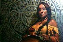 Art - Aztec & Mayan