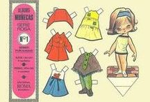 Paper Dolls / A bit of a childhood obsession of mine, I used to make my own. / by Janie McColl