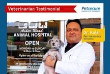 Petsecure testimonials / Some kind words from pet owners like you!